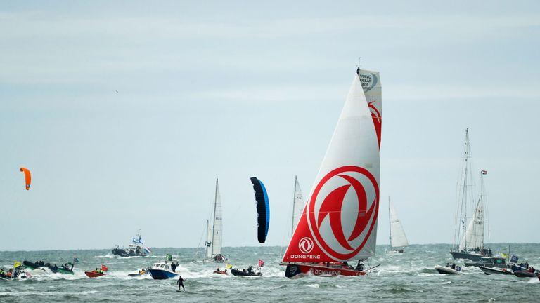 Dongfeng win Volvo Ocean Race