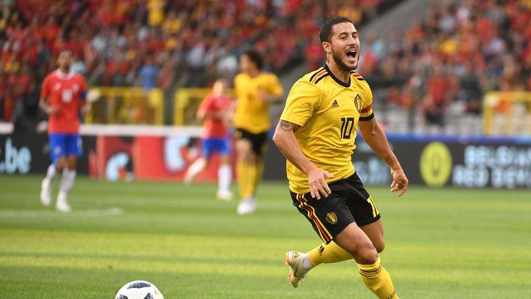 Roberto Martinez has played down injury concerns around Eden Hazard