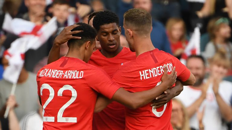 England beat Costa Rica 2-0 in their final warm-up match ahead of the World Cup