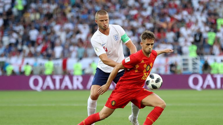 Belgium beat England 1-0 in their final group match earlier in the tournament