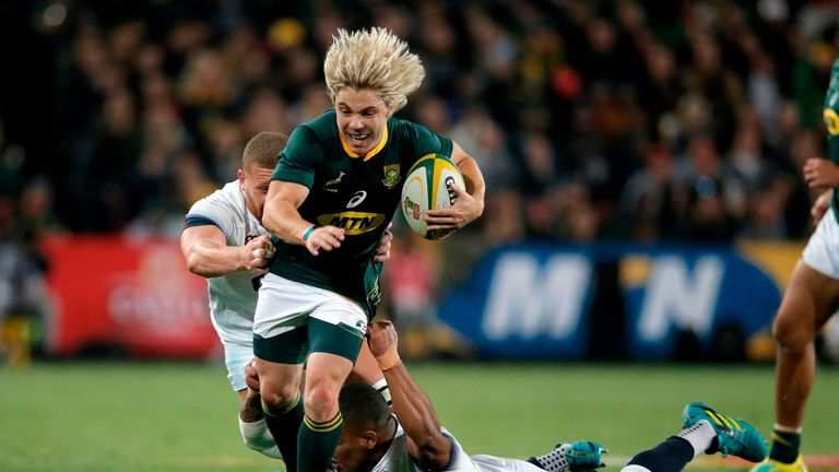 South Africa's Faf de Klerk was surprised by England's choice of training camp