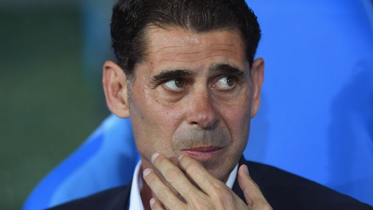 Fernando Hierro praised Spain's commitment