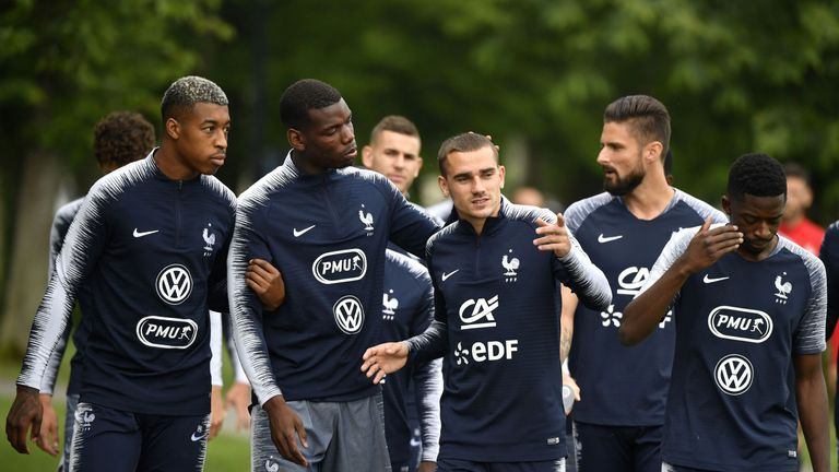 Paul Pogba and Antoine Griezmann will play a key role in France's bid to lift a second World Cup