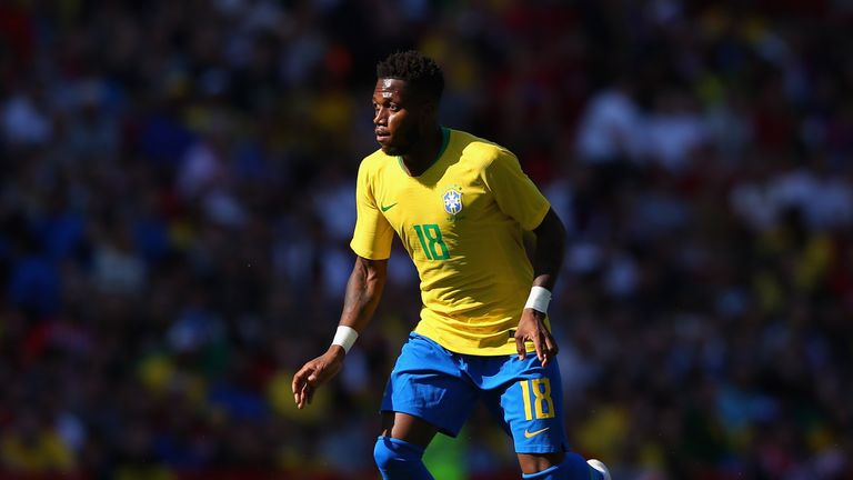 Fred was part of Brazil's World Cup squad but didn't play due to injury