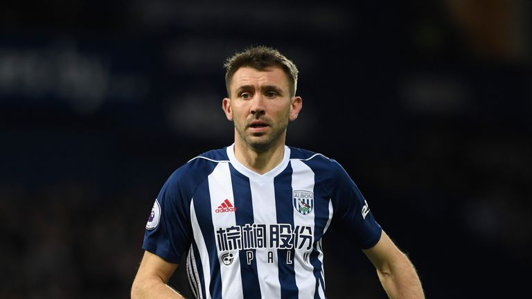 McAuley knocked up 203 Premier League appearances for the Baggies