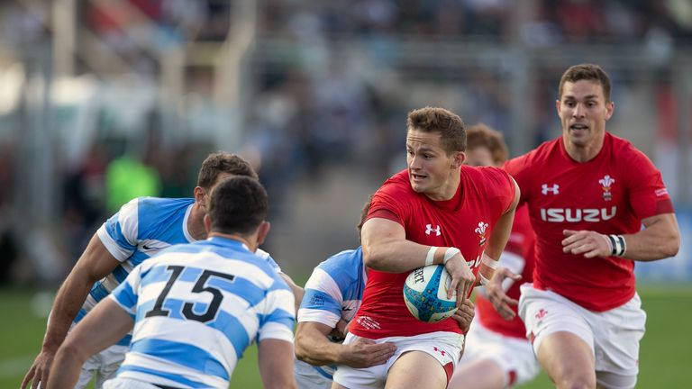Wales were 23-10 victors over the Pumas in the first Test