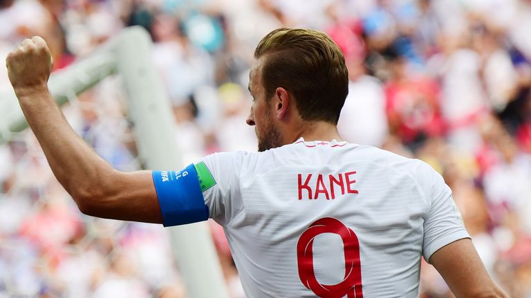 Harry Kane scored a hat-trick against Panama