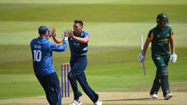 Harry Podmore ripped through Nottinghamshire's top order