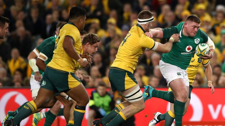 Ireland's Tadhg Furlong capped a fine series with another great performance in Sydney.