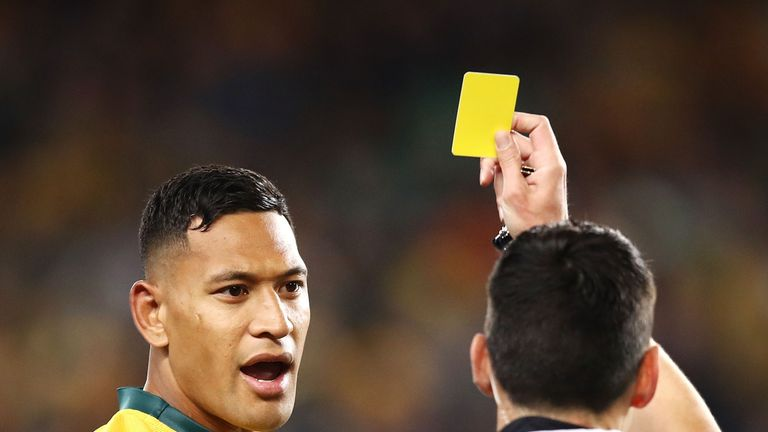 Israel Folau's one match ban has been upheld by a World Rugby Appeal Committee