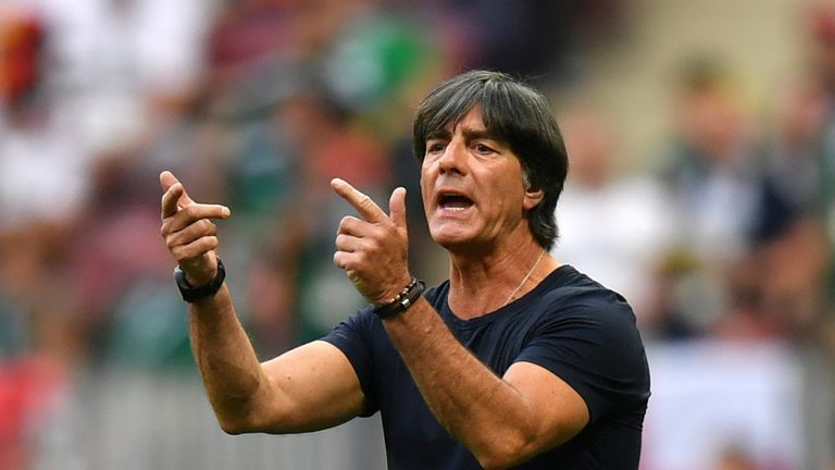 Joachim Low has praised England's approach to developing young players