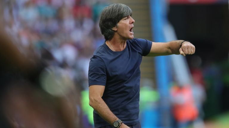 Joachim Low was given a new Germany contract just before the World Cup