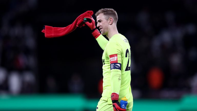 Hart spent last season on loan at West Ham