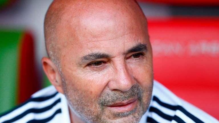 Jorge Sampaoli has vowed Argentina's  World Cup campaign will make him stronger