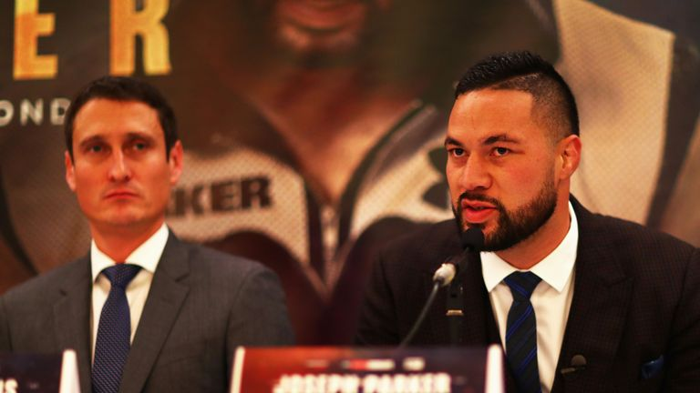 """Joseph Parker and Derek Chisora """"terms agreed"""" despite months of difficult negotiations"""