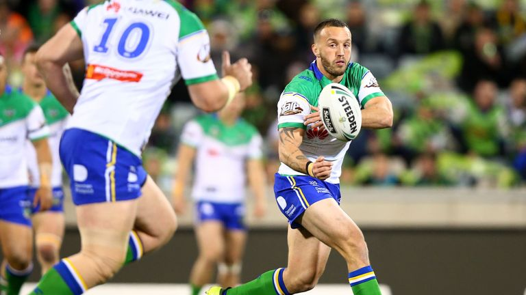 England international Josh Hodgson is set for a return to NRL action following a lengthy lay-off with an ACL injury