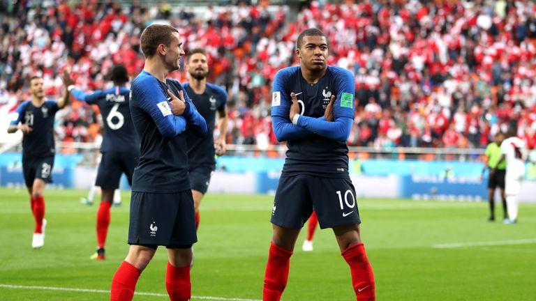 Antoine Griezmann edges out Kylian Mbappe