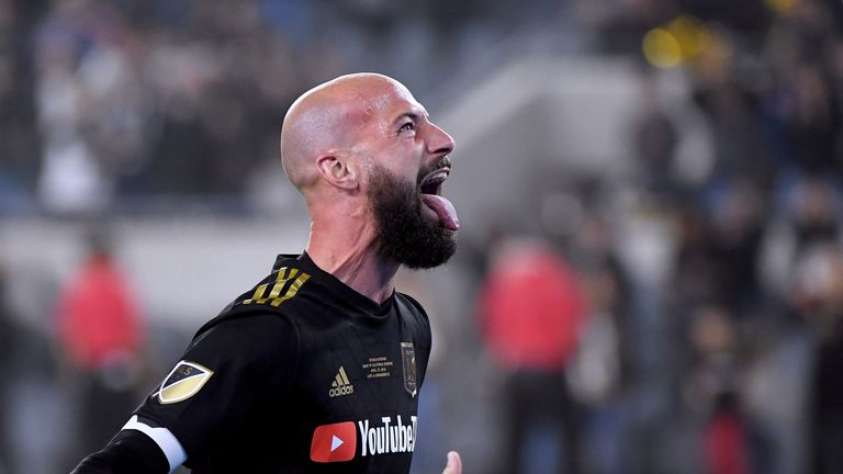 Los Angeles FC defender Laurent Ciman is on stand-by for Belgium