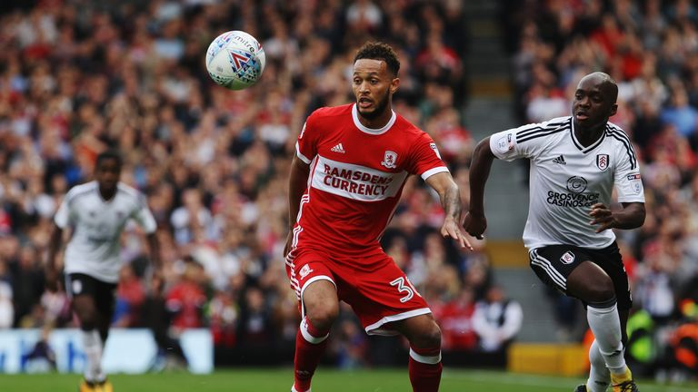 Lewis Baker was on loan at Middlesbrough last season