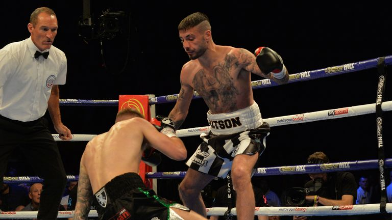 Ritson destroyed Paul Hyland Jr inside a round on his last appearance at the Metro Radio Arena