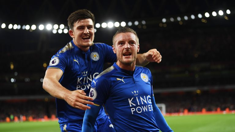 Jamie Vardy converted 33.9 per cent of his chances last season