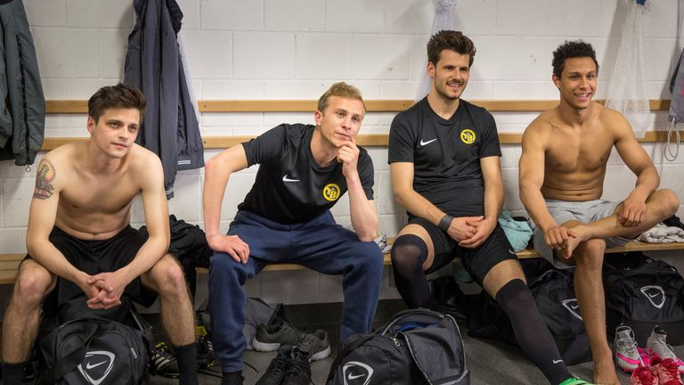 The makers of 'Mario' were given access to facilities at Young Boys Bern, giving the movie an authentic football feel