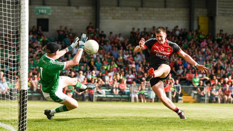 Cillian O'Connor ran riot for the Connacht county