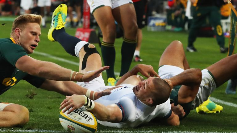 Mike Brown will not feature against South Africa this weekend