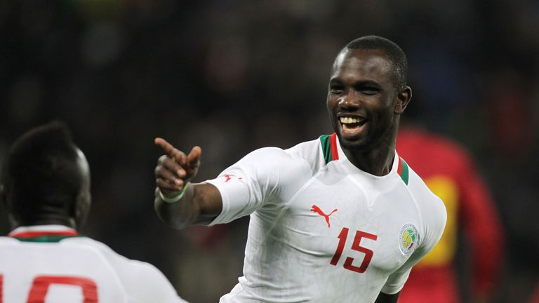 Moussa Konate was on target for Senegal against South Korea