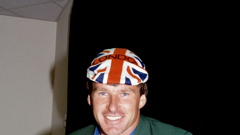Sir Nick Faldo was world No 1 for a total of 97 weeks