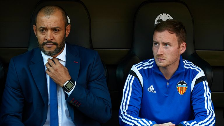 The pair previously worked together in La Liga when coaching Valencia