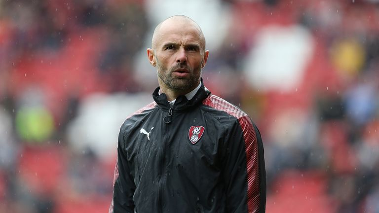 Rotherham United boss Paul Warne