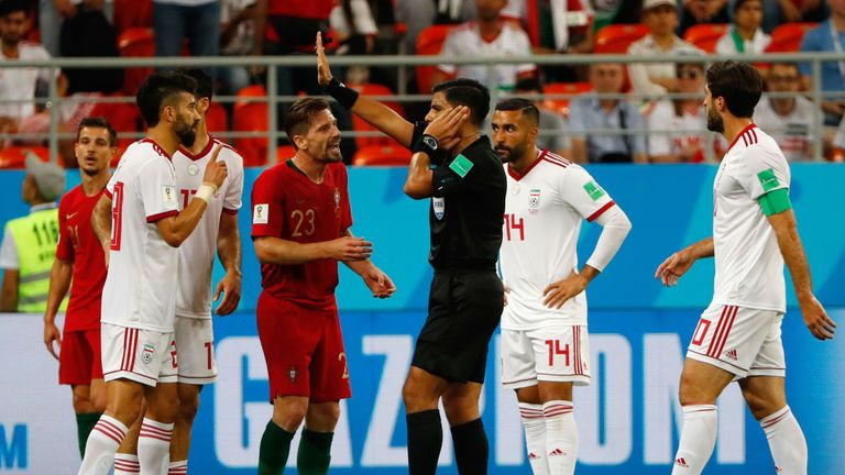 Portugal edged into the last 16 after VAR caused more controversy