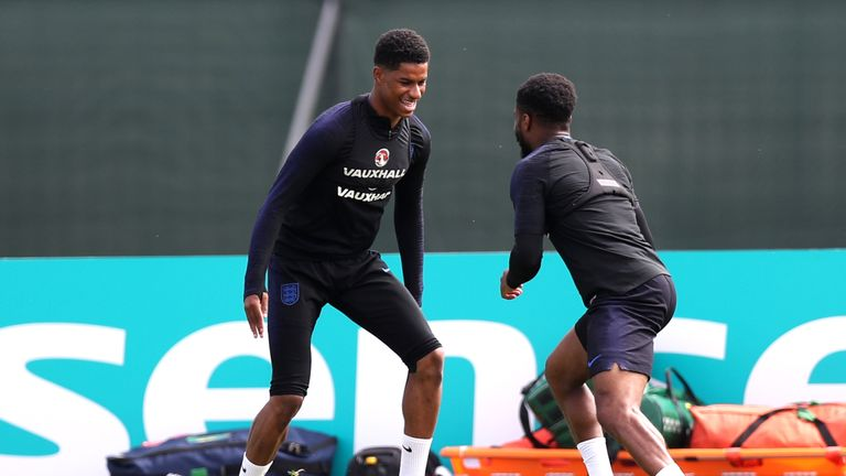 Marcus Rashford could be in line for a start against Panama