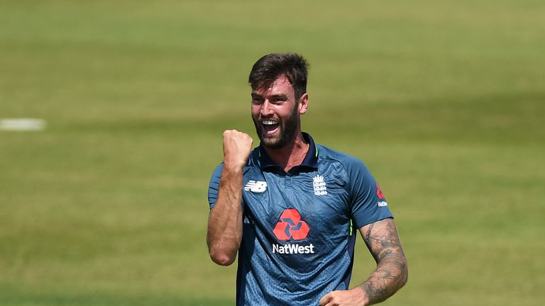 Reece Topley last played in a one-day international for England in 2016