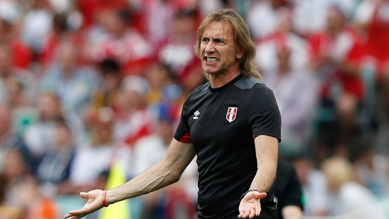 Ricardo Gareca could quit Peru after their World Cup exit