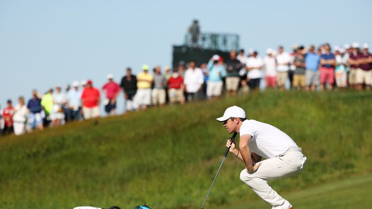 McIlroy made three double-bogeys in his 80