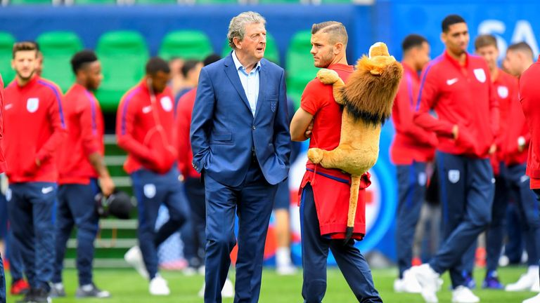 Wilshere was part of Roy Hodgson's England squad at Euro 2016