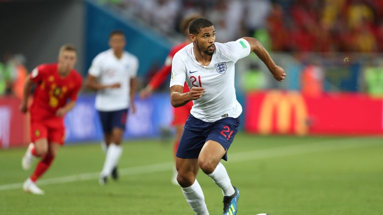 Loftus-Cheek played at the World Cup, and credits regular Premier League starts with his inclusion