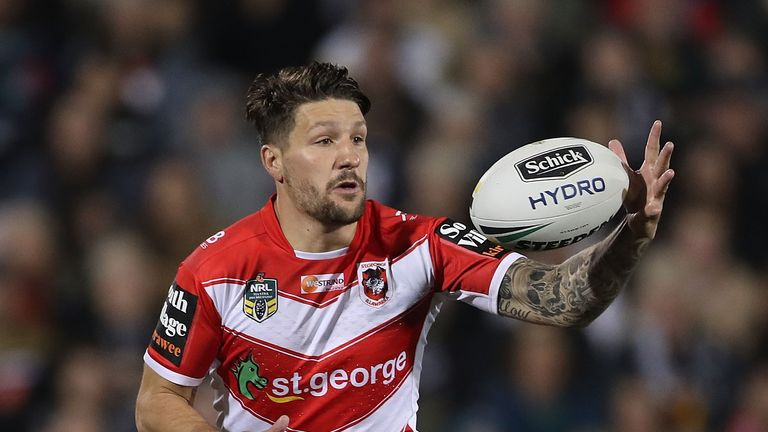 Gareth Widdop won't be rushed back into the Dragons team