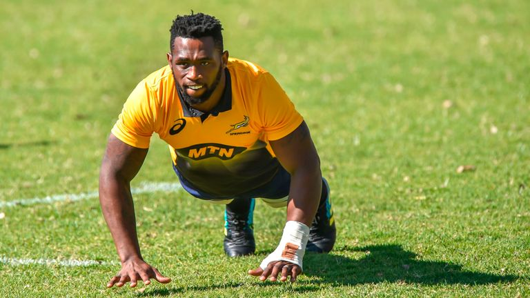 Siya Kolisi will be the first black player to captain South Africa in their 127-year history