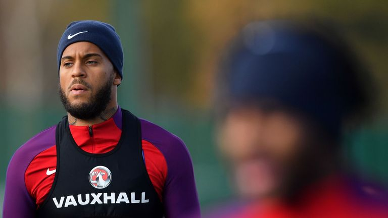 Ryan Bertrand was left out of England's World Cup squad