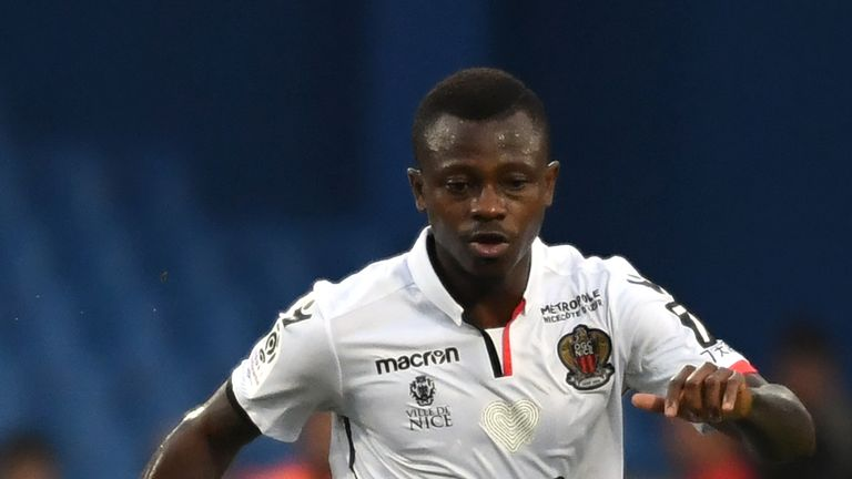 Jean-Michael Seri is a midfielder for French side Nice