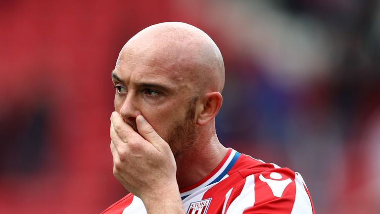 Stephen Ireland is looking for a new club after being released by Stoke