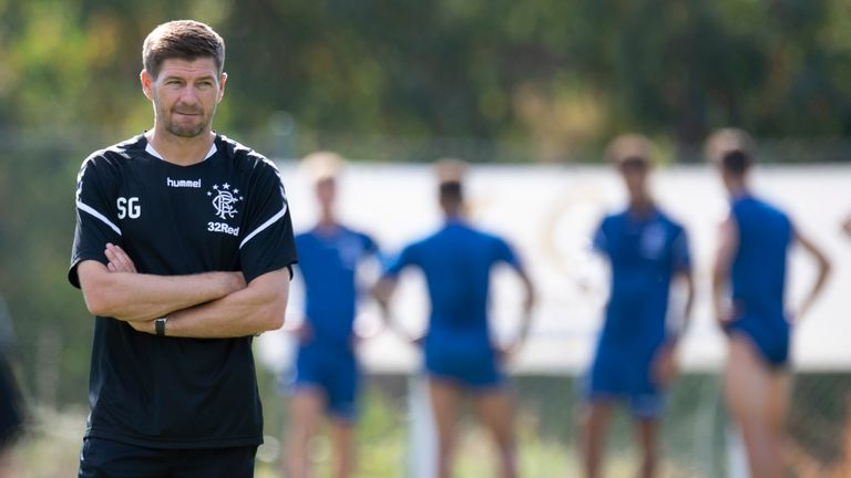 Steven Gerrard is looking for a replacement for Bruno Alves