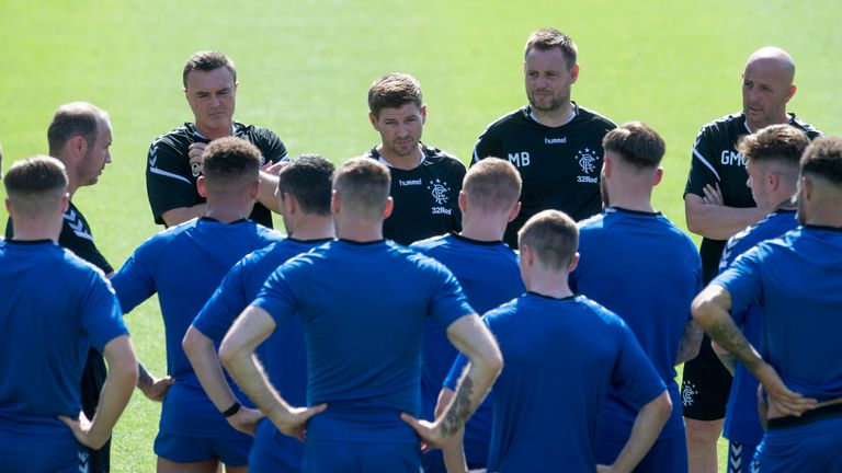 Steven Gerrard has brought a winning mentality to Rangers, says King