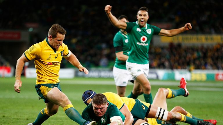 Furlong's strong finish proved decisive at the AAMI Park Stadium