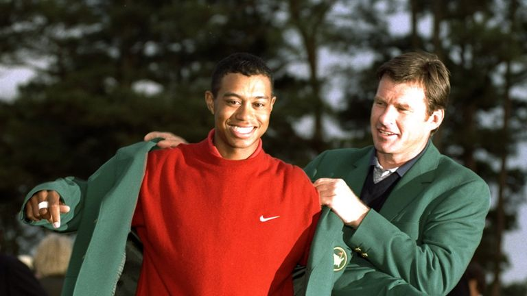 Tiger Woods and Nick Faldo have both defended a major in the past 30 years