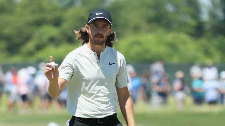Fleetwood missed an eight-foot putt on the last for a 62