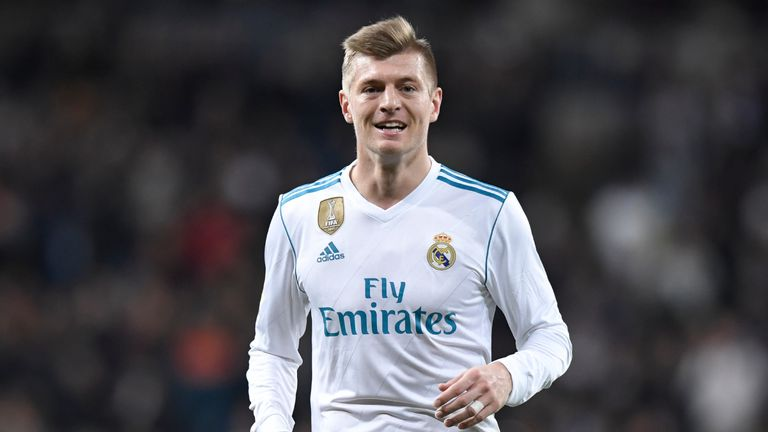 Toni Kroos has been linked with Manchester United